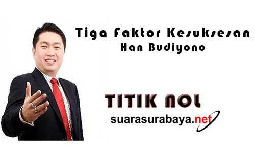 Han Budiyono Tiga Faktor Kesuksesan