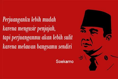 Kutipan Kata-kata Bijak Soekarno