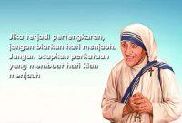 motivasi mother teresa