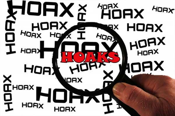ciri-ciri hoaks