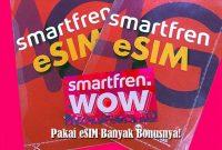 smartfren eSIM banyak bonus