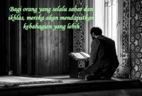 Kata-kata Mutiara Sabar dan Ikhlas