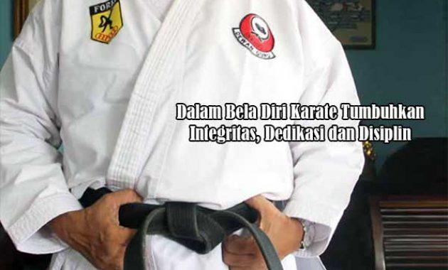 Filosofi Bela Diri Karate