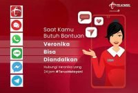 Suara Asisten Virtual Veronika Telkomsel