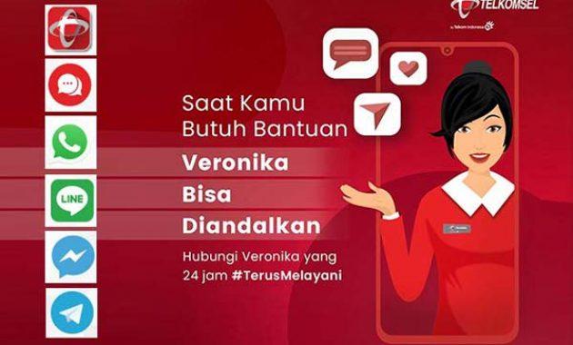 Suara Asisten Virtual Veronika Telkomsel