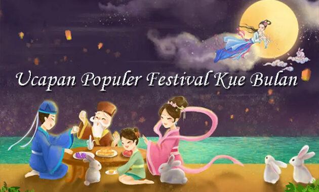 Ucapan Populer Festival Kue Bulan